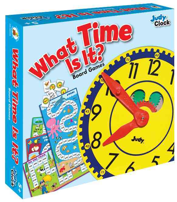 What Time Is It? Board Game, Grades K - 3 By Carson-Dellosa Publishing Company, Inc. (COR)